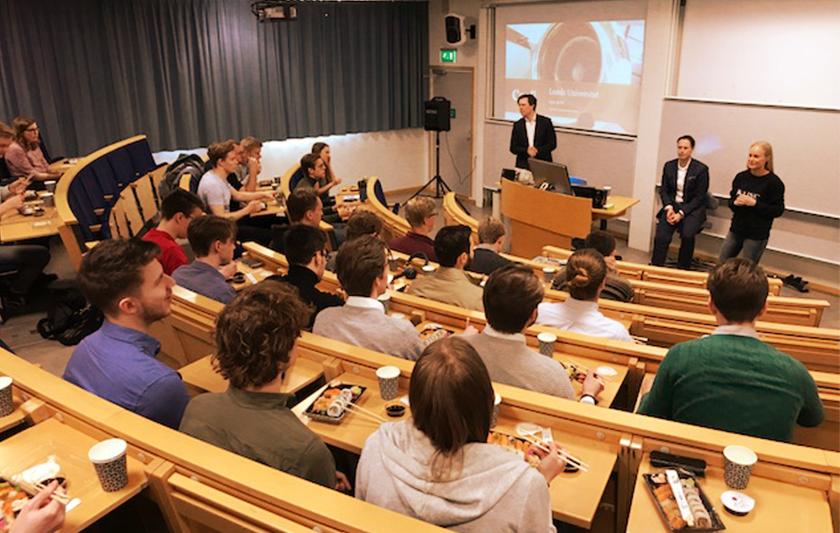 Universitets föreläsning